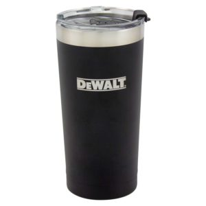 20 oz Black Powder Coated Industrial Drinkware