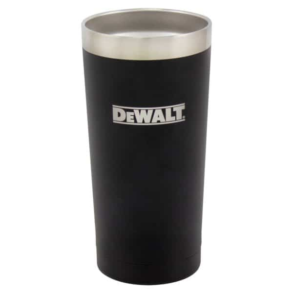 20 oz Black Powder Coated Industrial Drinkware Without Lid