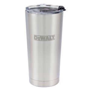 20oz_Dewalt-Tumbler-StainlessSteel-With-Lid-On