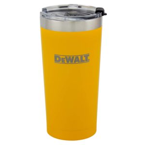 20 oz Yellow Powder Coated Industrial Drinkware