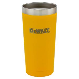 20 oz Yellow Powder Coated Industrial Drinkware