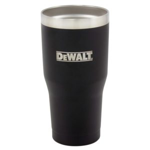 30 oz Black Powder Coated Industrial Drinkware
