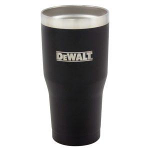 30 oz Black Powder Coated Industrial Drinkware