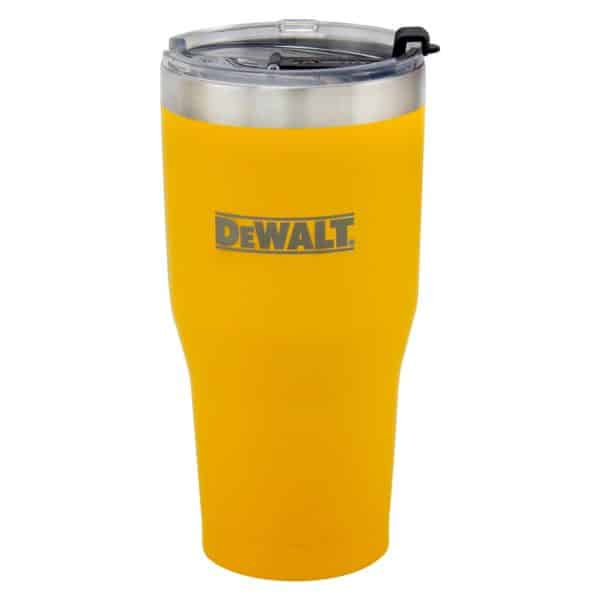 30 oz Yellow Powder Coated Industrial Drinkware Main Image