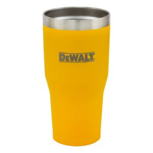 30 oz Yellow Powder Coated Industrial Drinkware